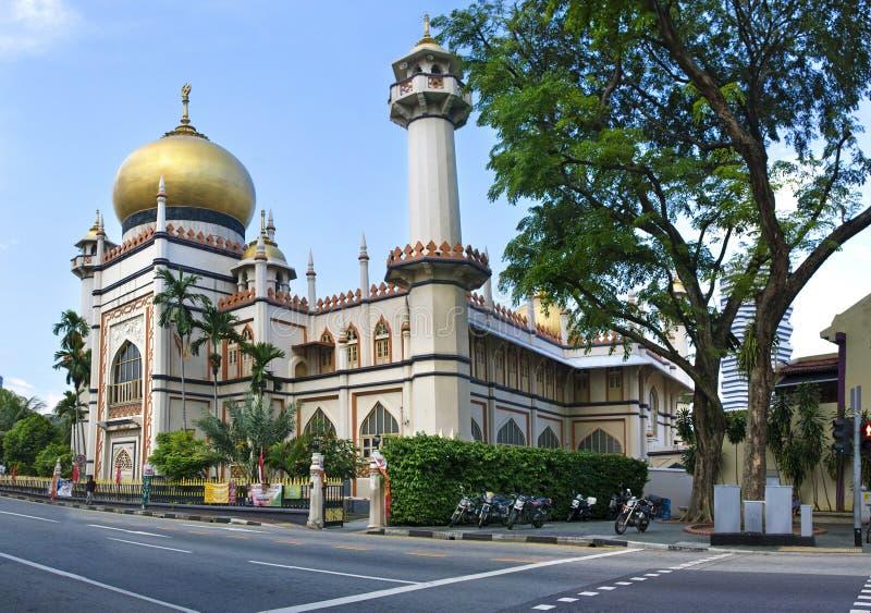 masjidmoskésingapore sultan royaltyfri foto
