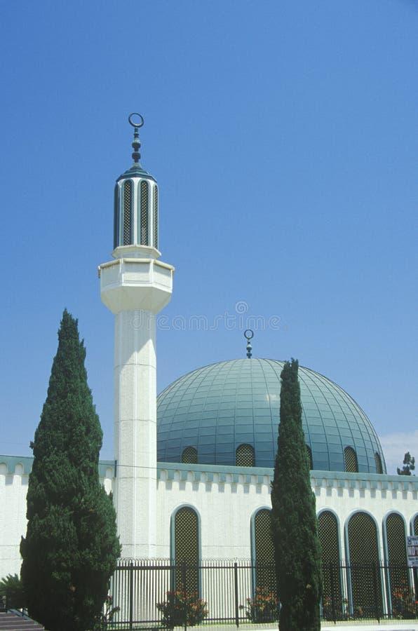 Masjidomar ibn Moskee al-Khattab in Los Angeles Californië royalty-vrije stock foto