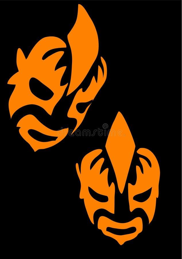 Mask royalty free illustration