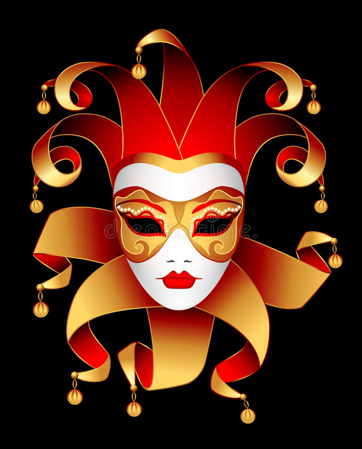 Download Mask stock vector. Illustration of mask, theatre, illustration - 23875502