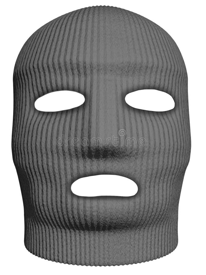 Download Mask stock illustration. Image of gray, head, isolated - 25593904