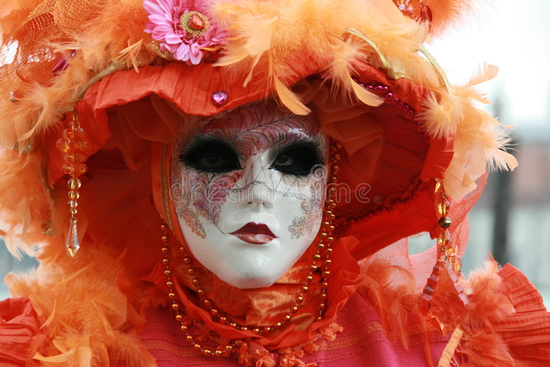 Mask - Carnival - Venice stock image