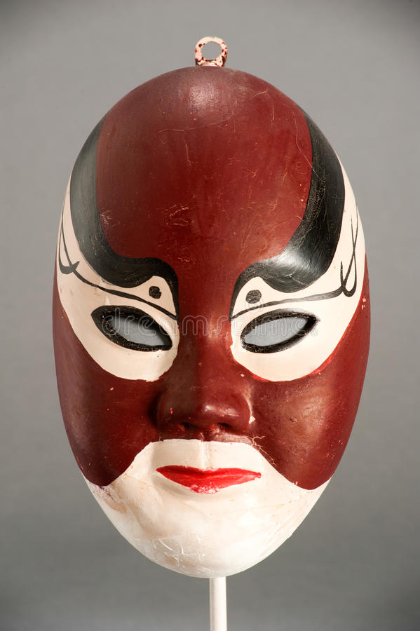 Mask of Chinese theater. Mask of the traditional Chinese theater stock photos