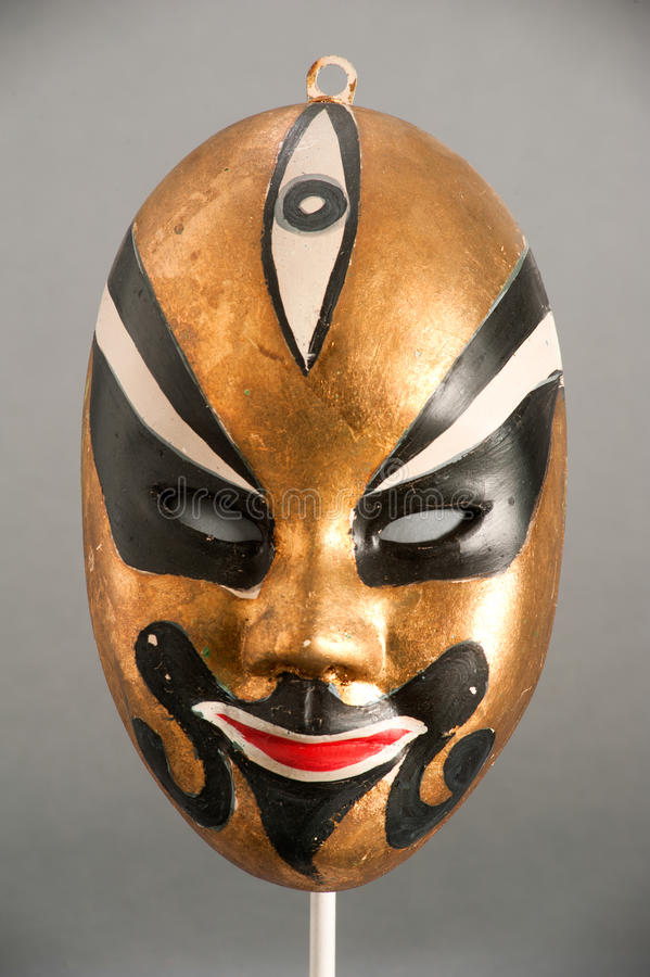 Mask of Chinese theater. Mask of the traditional Chinese theater stock image
