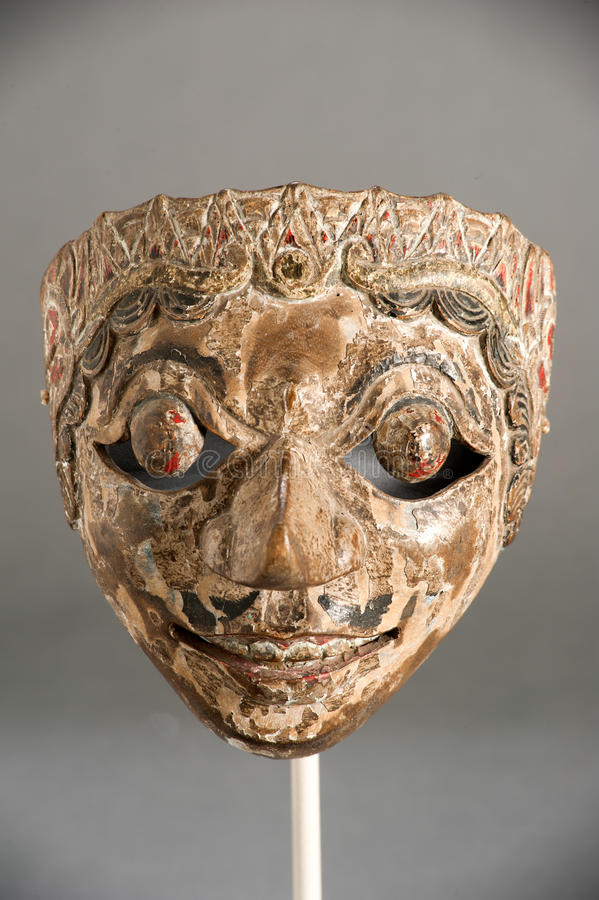 Mask of Chinese theater. Mask of the traditional Chinese theater royalty free stock photos