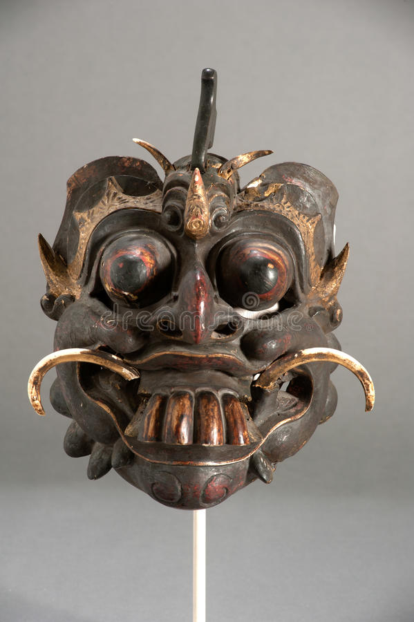 Mask of Chinese theater. Mask of the traditional Chinese theater stock images
