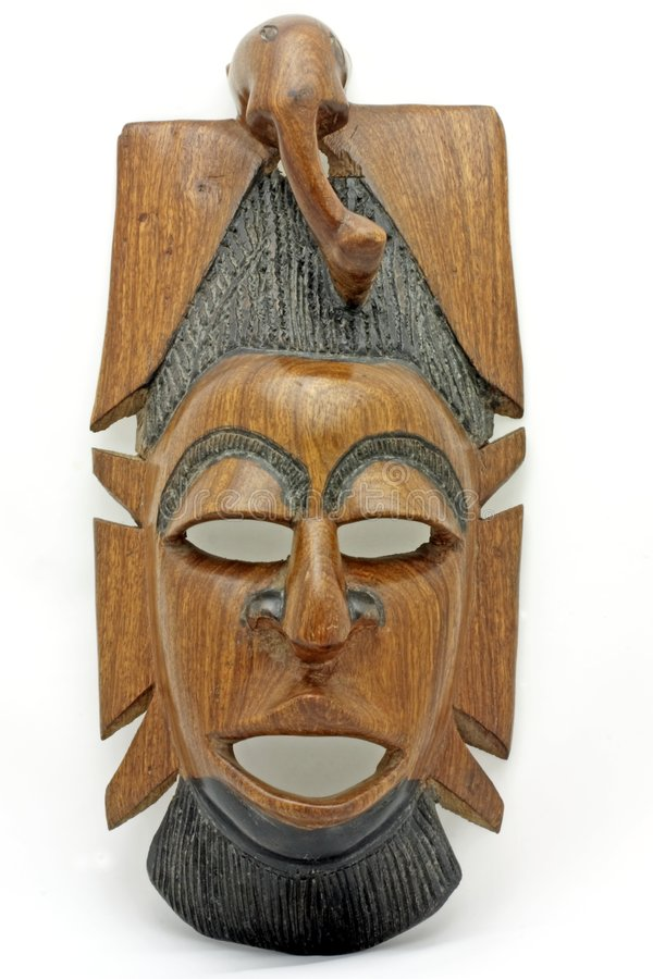 Download Mask from Gambia Africa stock image. Image of handcraft - 1900507
