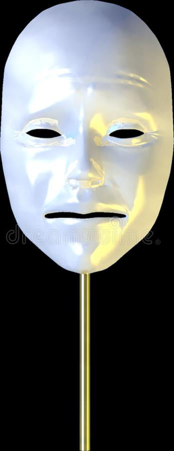 Mask of Misery stock photography