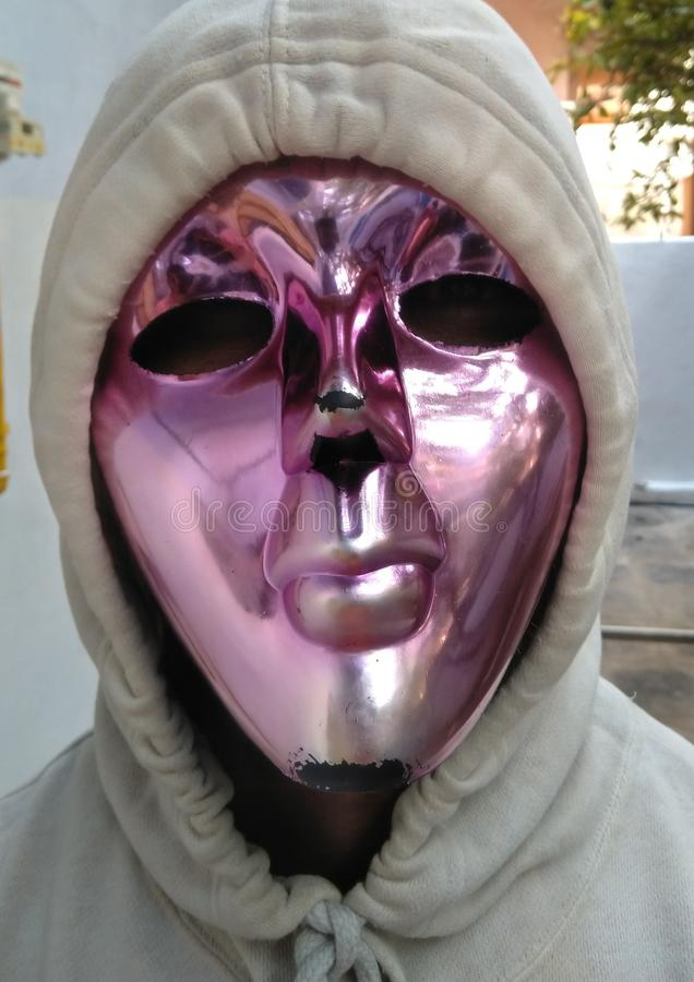 Mask model looks like alien stock images