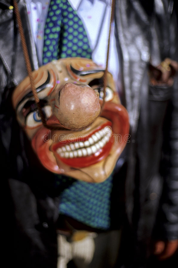 Mask- Peruvian festival royalty free stock image