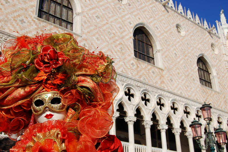 Download Mask in S.Marco square editorial image. Image of jump - 12915235