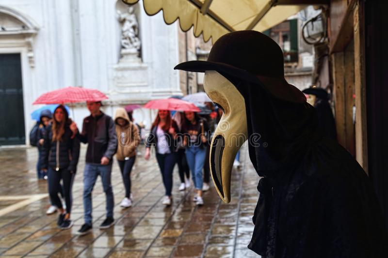Mask for sale in Venice, Italy royalty free stock photography