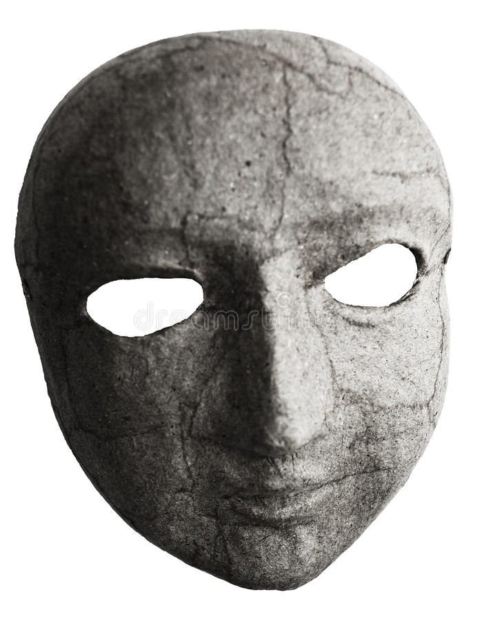 Mask Vänder Mot Royaltyfri Foto