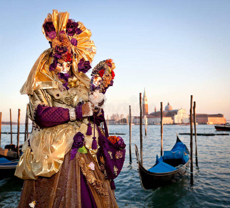 Download Mask On Venetian Carnival, Venice, Italy (2012) Editorial Photo - Image: 28611251
