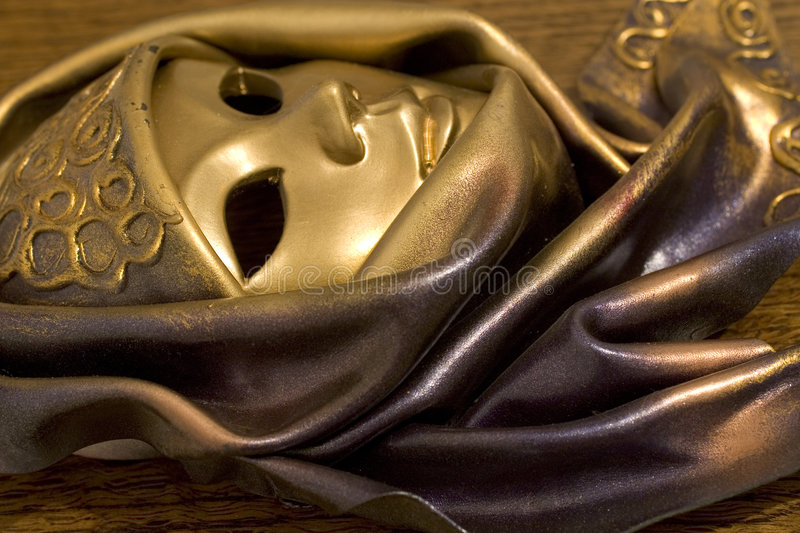 Mask from Venice (2488a) stock photography