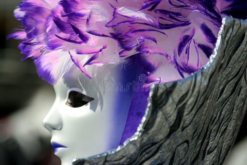 Mask in Venice Carnival stock photo