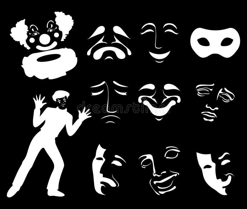 Mask6 ilustração do vetor