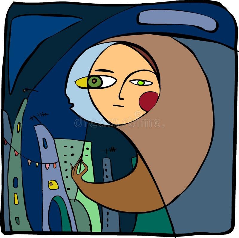 maska ilustracji