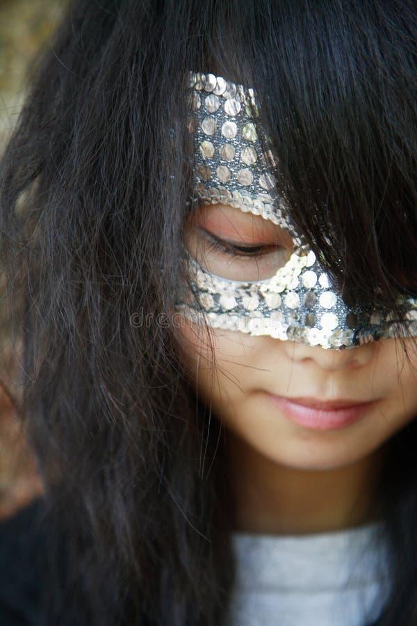 maska dziewczyny obraz stock