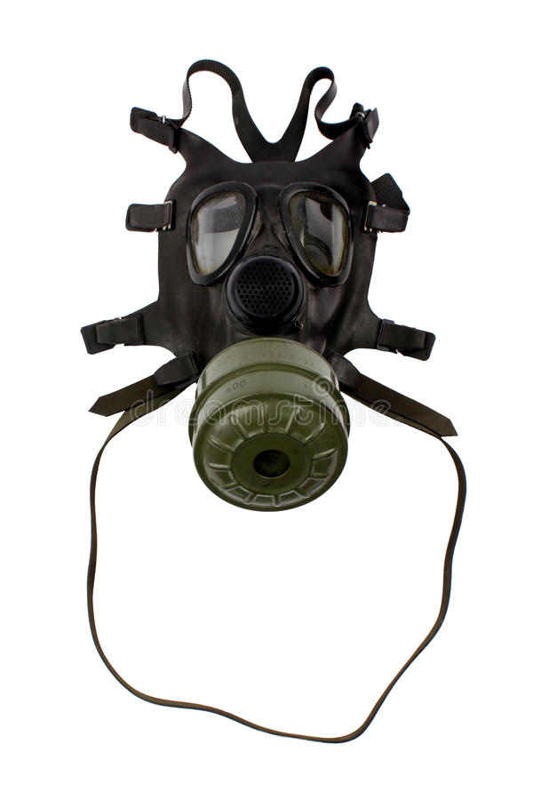 maska gazowa obraz stock