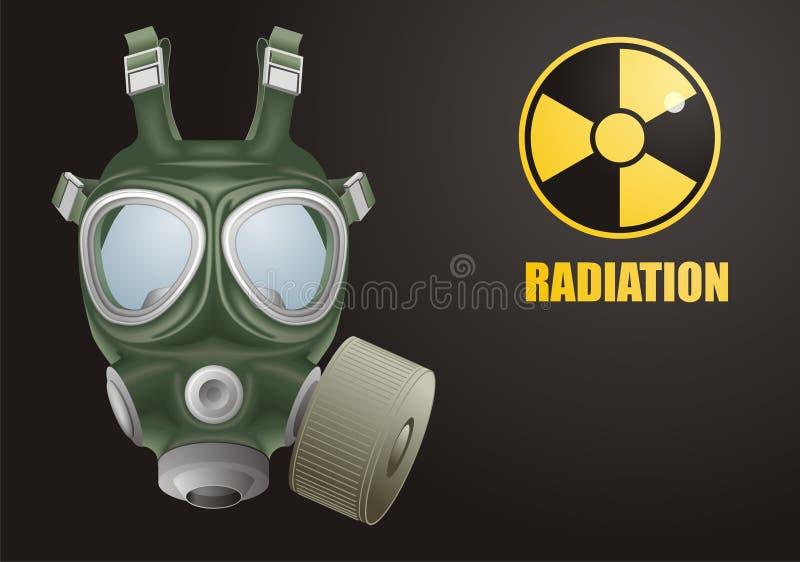 maska gazowa royalty ilustracja