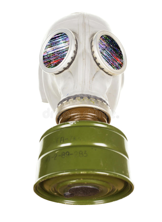 Maska gazowa fotografia stock