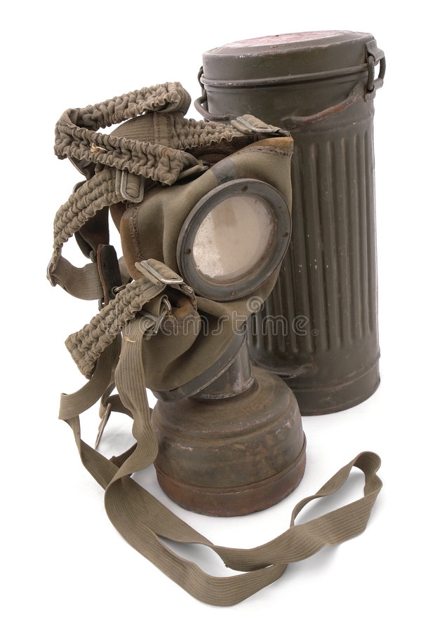 maska gazowa przypadki, niemcy zdjęcia royalty free