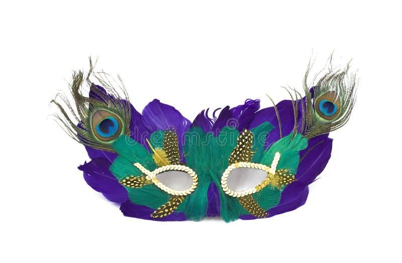 maska mardi gras zdjęcia stock