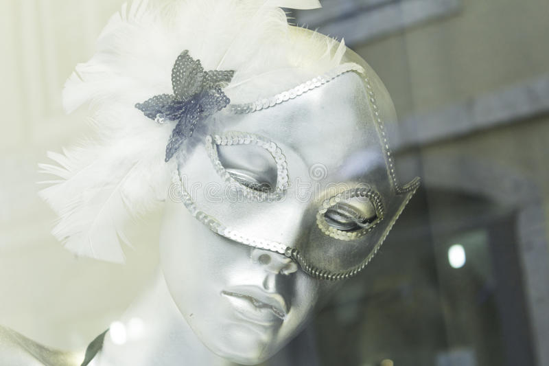 Maska na Mannequin obrazy stock