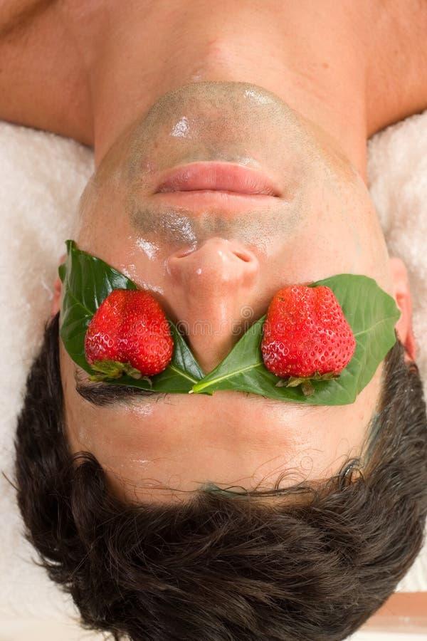 maska owoców kwasu fotografia stock
