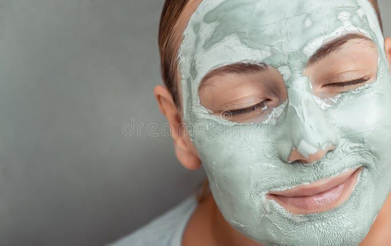 Maska przeciwstarzeniowa twarzy fotografia royalty free