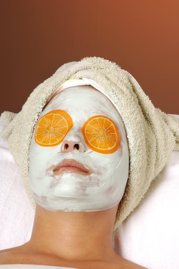 maska skincare twarzy zdjęcia royalty free