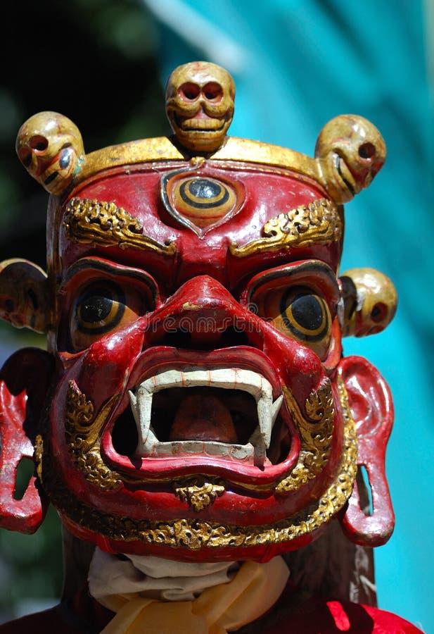 maska tybetańskiej zdjęcie stock