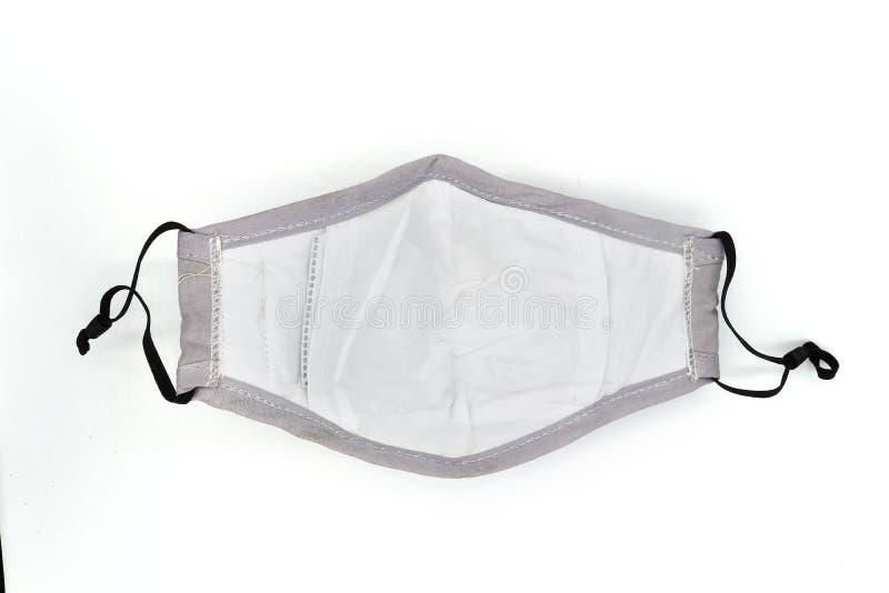 Maske verhindern, Schutzfaktor f?r Entst?rungswei?e Maske der Maske-safty des gesichtes N95 auf wei?em Hintergrund mit Beschneidu stockbilder
