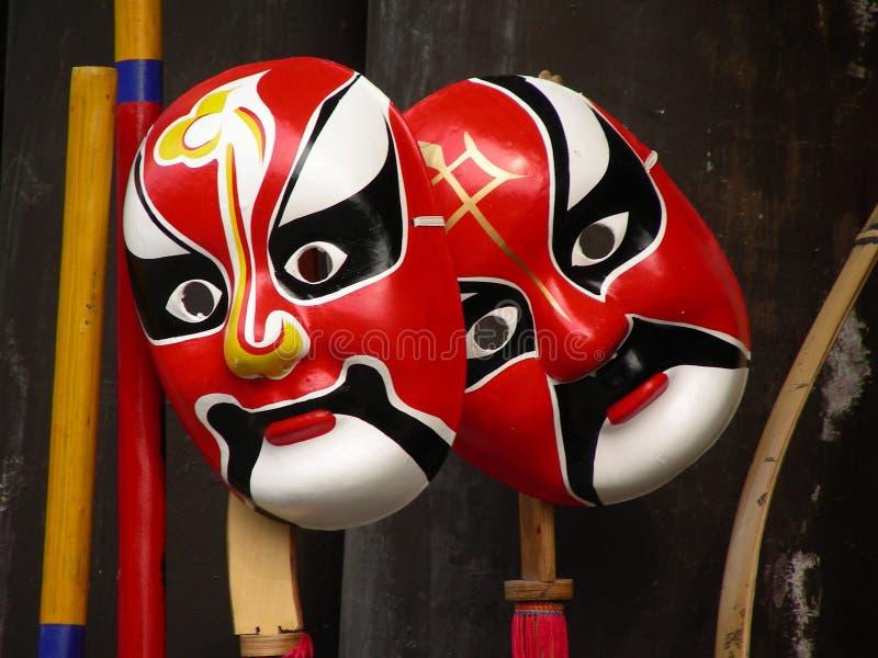 Maske von Peking-Oper stockfotos
