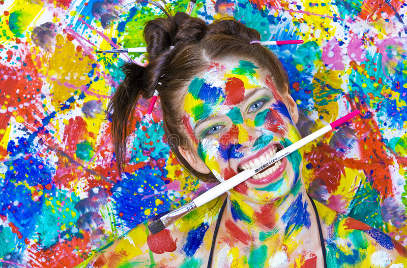 Download Masked stock image. Image of colouring, face, color, glamour - 8089431