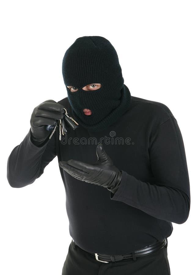 Masked thief