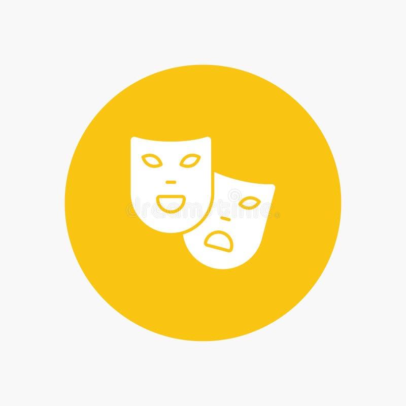 Masken, Rollen, Theater, Madrigal lizenzfreie abbildung