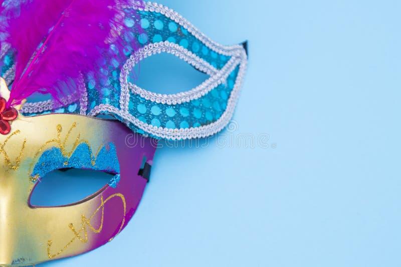 Masken und Verkleidungen stockfoto