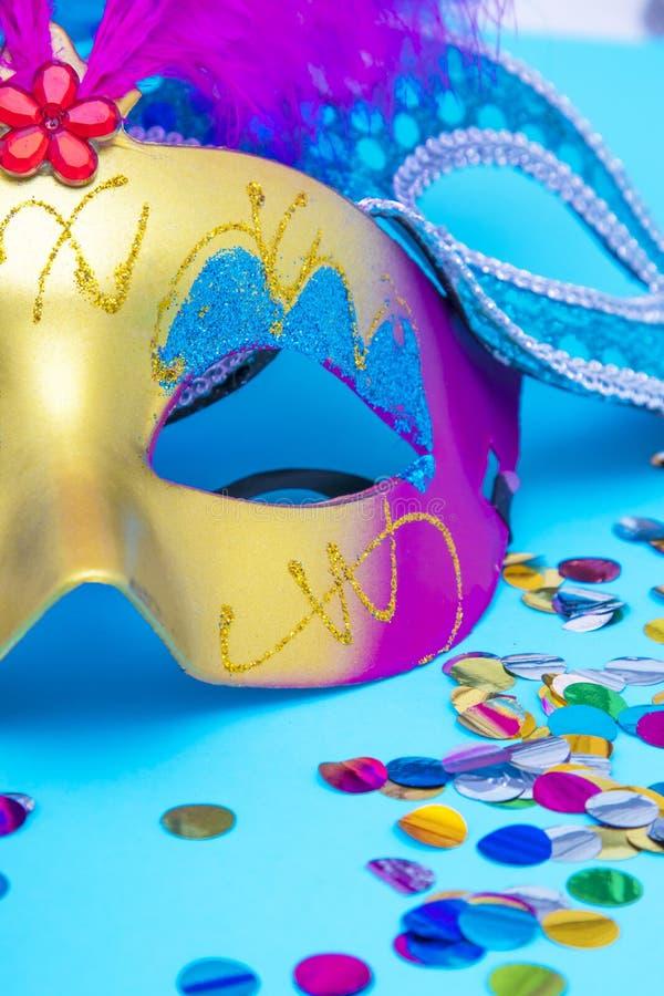Masken und Verkleidungen lizenzfreies stockfoto