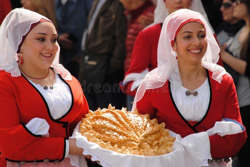 Masken von Sardinien lizenzfreies stockfoto