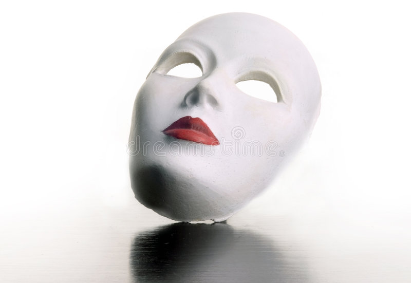 Masker 1 royalty-vrije stock afbeelding