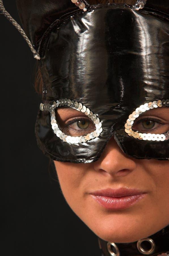 Masker 2 van het Kostuum van de kat royalty-vrije stock afbeeldingen