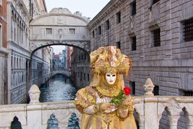 Masker, Carnaval van Venetië stock afbeelding