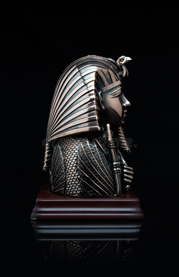 Masker van de farao stock fotografie