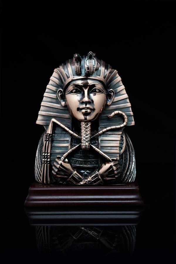 Masker van de farao stock foto