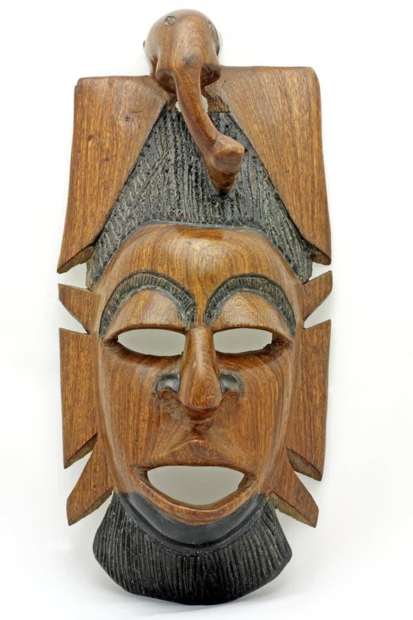 Masker van Gambia Afrika royalty-vrije stock fotografie