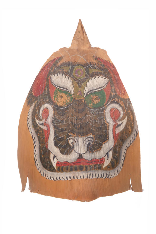 Masker van het herinnerings het stammengezicht stock afbeelding