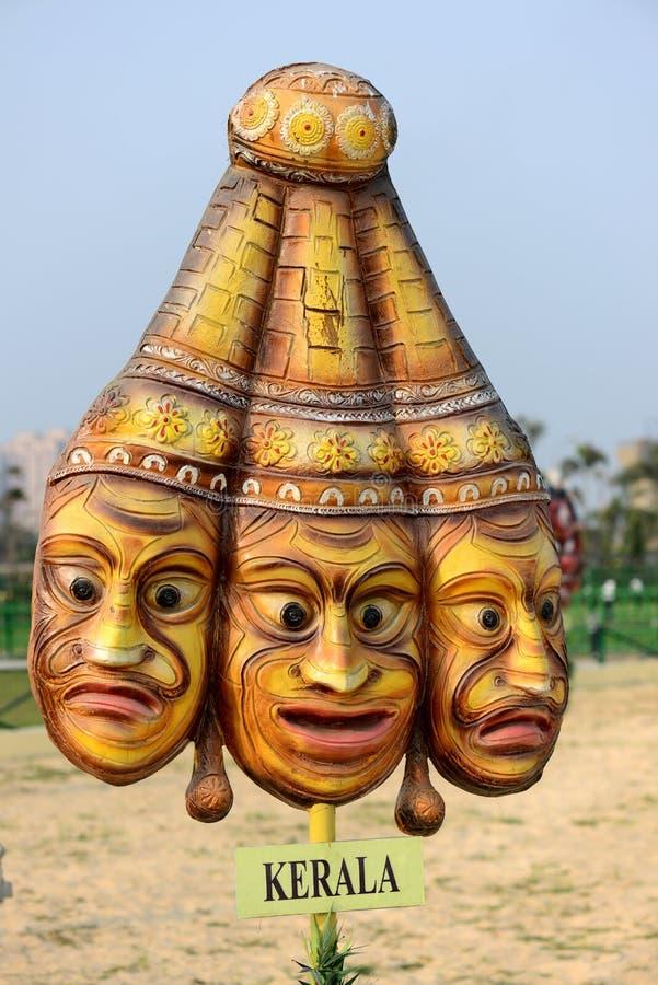 Masker van Kerala stock foto