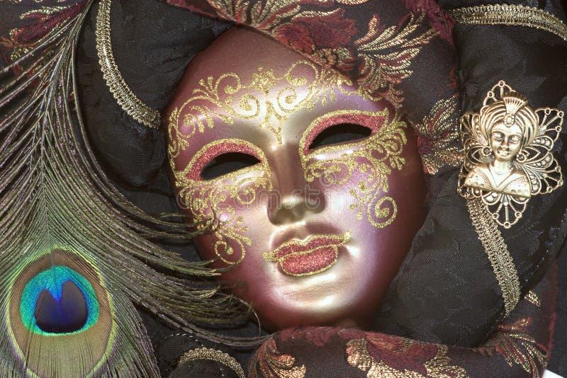 Masker van Venetië stock afbeelding